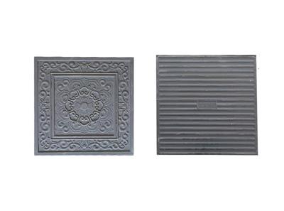 青瓦厂家-机制花砖