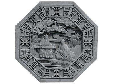 中国古建筑砖雕影壁的作用